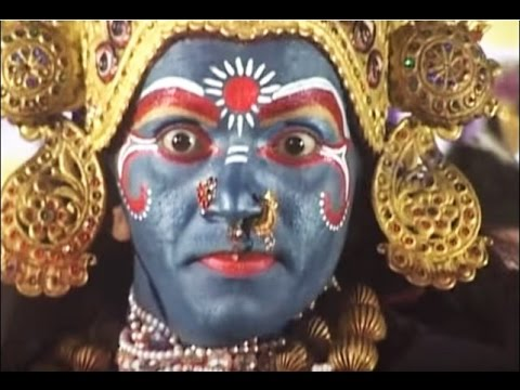 Kali mata dance in India