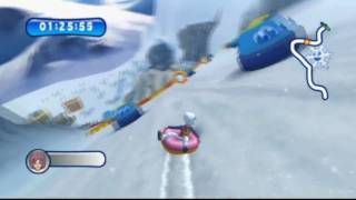 Mountain Sports (Wii) Multiplayer: Tube Racing