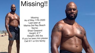 Former Wwe Star Shad Gaspard Missing