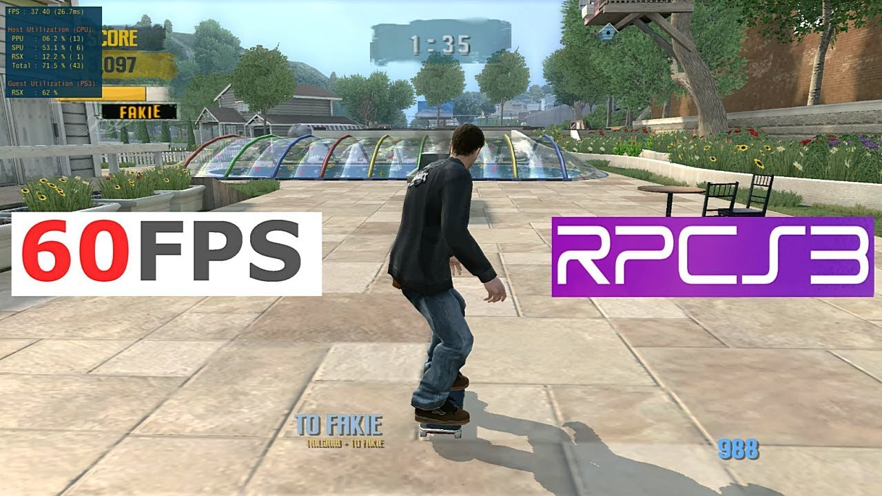 PS3 emulator RPCS3 shows off new feature that lets you uncap