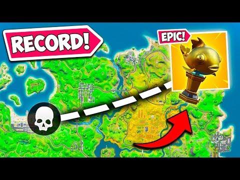 *WORLD RECORD* LONGEST MYTHIC FISH KILL!! - Fortnite Funny Fails And WTF Moments! #837