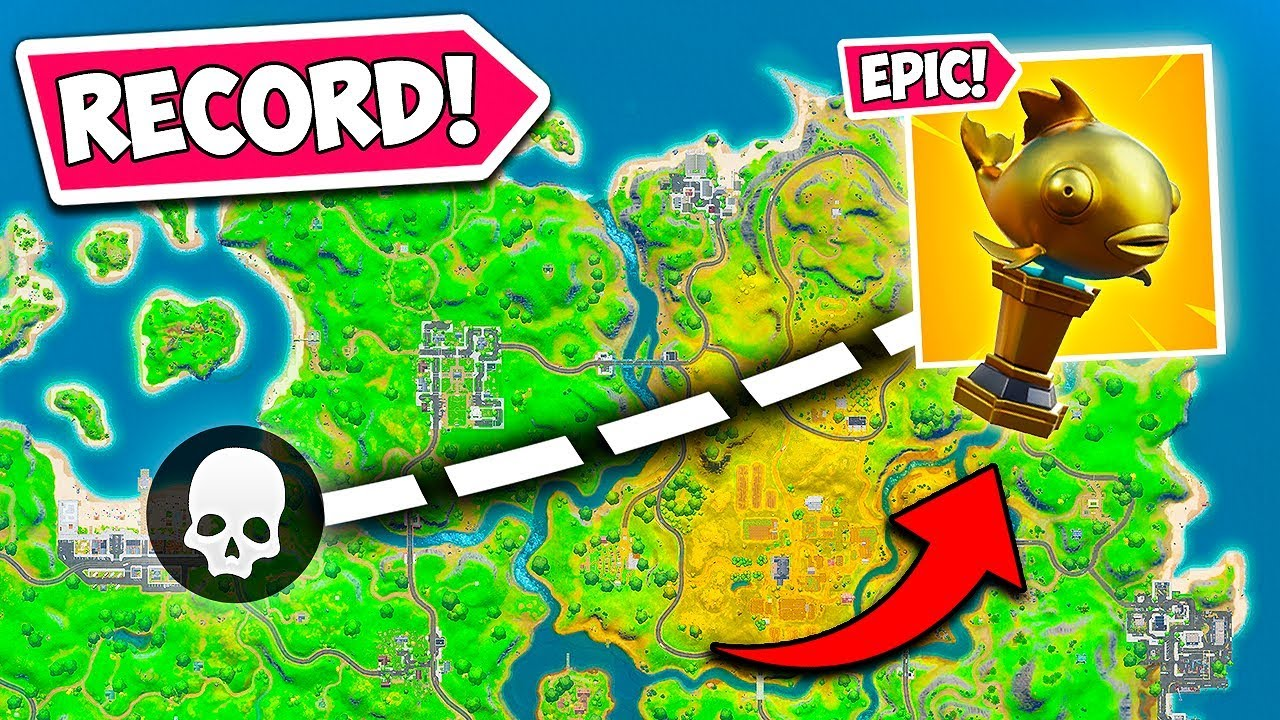 *WORLD RECORD* LONGEST MYTHIC FISH KILL!! - Fortnite Funny Fails and WTF Moments! #837 thumbnail
