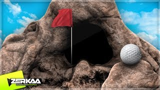MINIGOLF IN A CAVE! (Golf It)