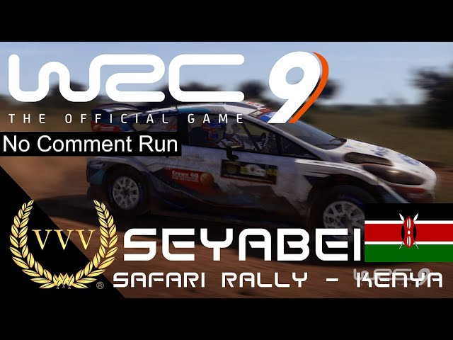 WRC 9 - Kenya - Seyabei - No Comment Run