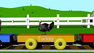 Farm Train for Kids