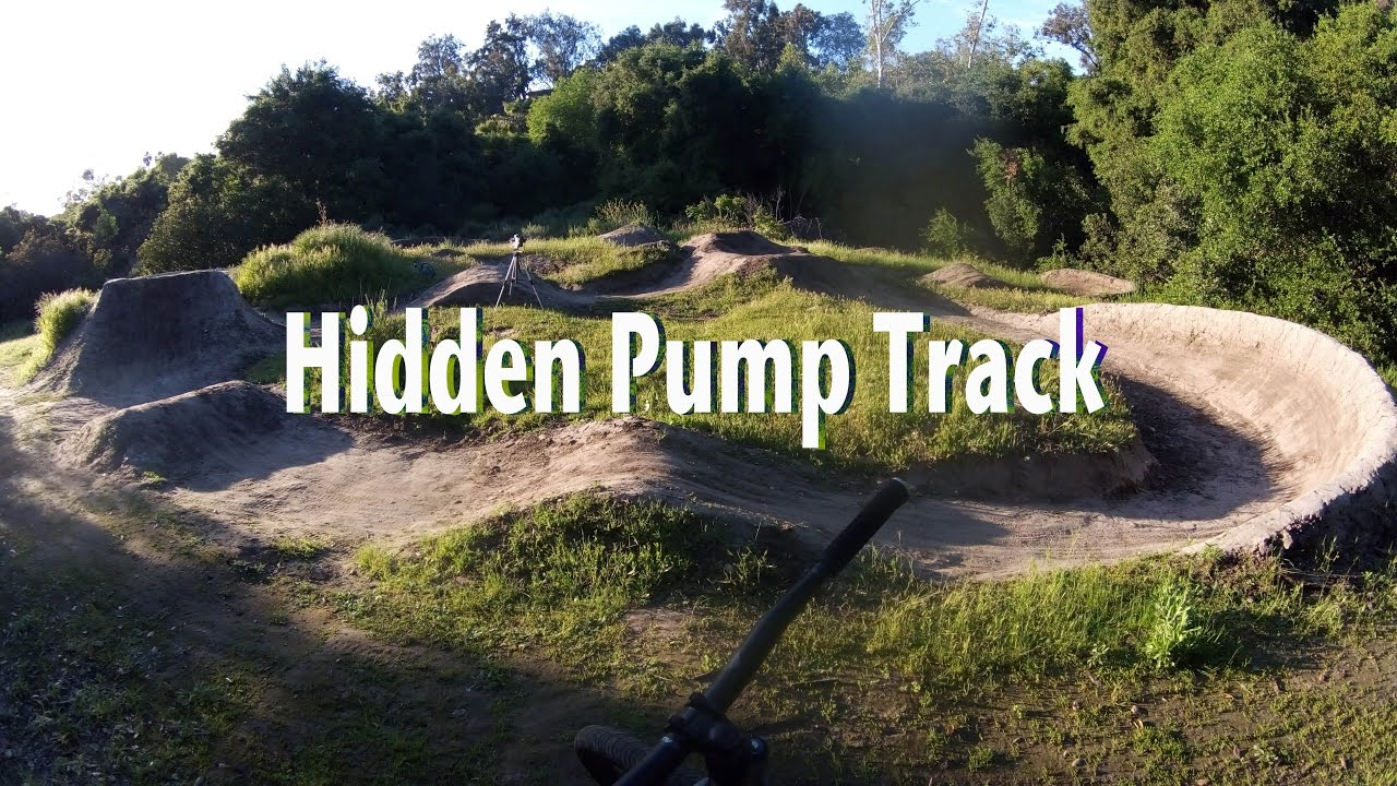 Backyard Pumptrack i built a pump track - youtube