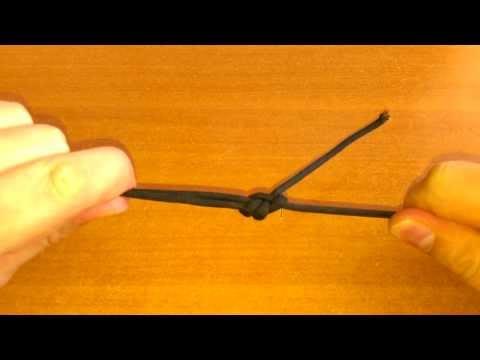 Как связать между собой два конца (Шкотовый узел)