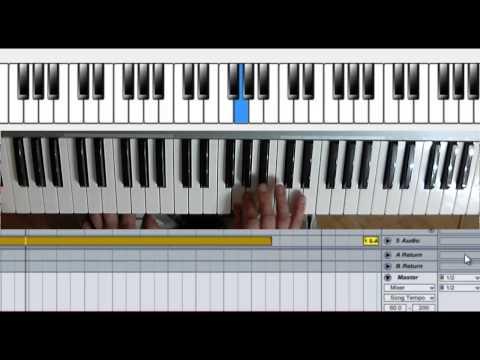 Santana - Evil Ways.  How to play solo organ.