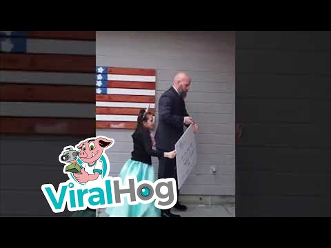 Khloe's First Father Daughter Dance || Viralhog
