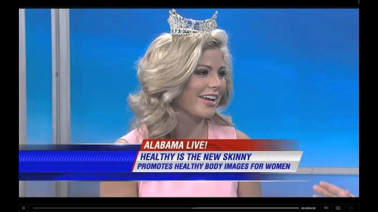 Meg McGuffin, Miss Alabama on Alabama Live WSFA 12