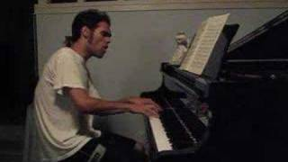 Journey Dont Stop Believin on Piano w/ Vocals
