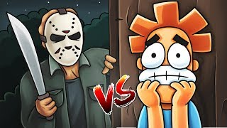 YOU vs JASON VOORHEES  What if You Met Jason in real life? (Friday the 13th Movie)