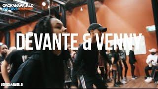 DEVANTE & VENNY (AFRO DANCE) // OrokanaWorld #ONTOUR NIJMEGEN