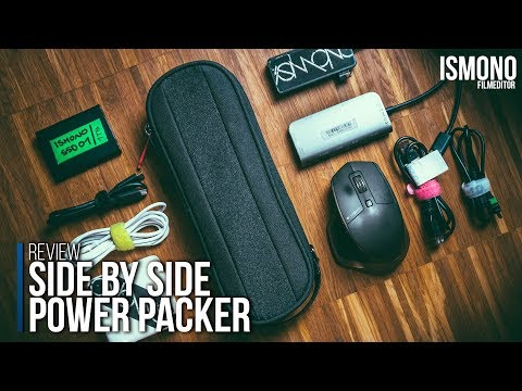 How to organize your tech. Side by Side Power Packer Review