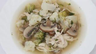 Суп из куриной грудки и овощей / Правильное Питание / Диетический рецепт