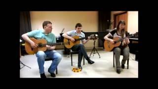Hotel california  - Eagles (guitar trio)