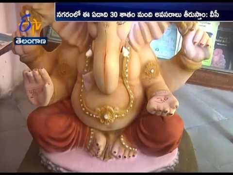 Making Ganesh Idols With Natural Colors: Agri Varsity VC