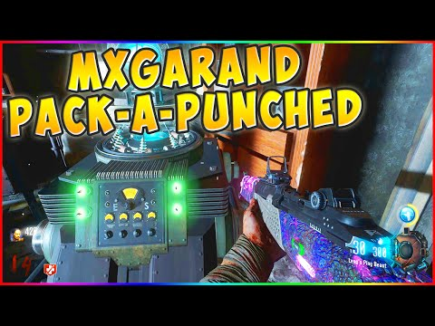 """""""MX GARAND PACK-A-PUNCHED!"""" Black Ops 3 Zombies GOROD KROVI"""