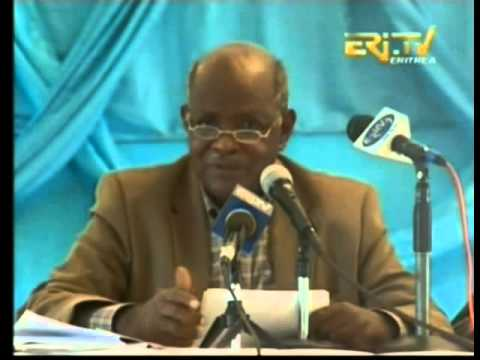 Eritrean minister of land and water give seminary part 1, January 2014