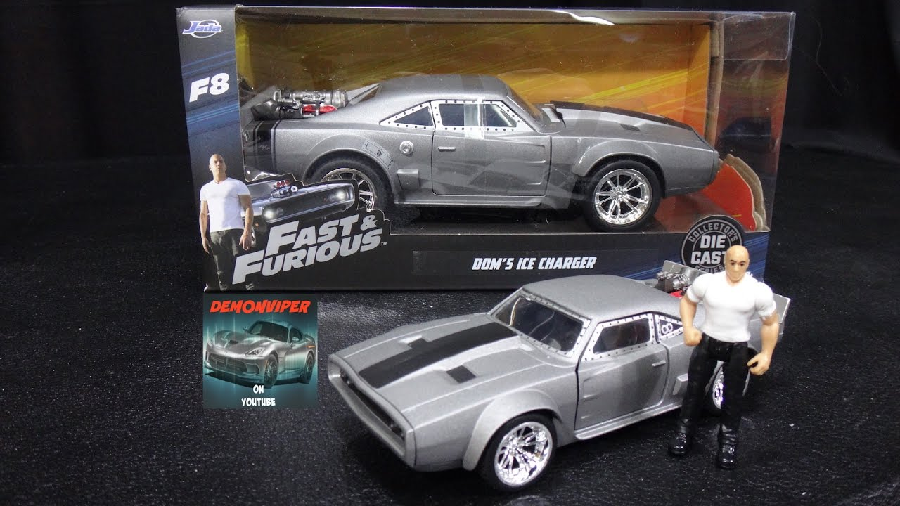 Dodge Ice Charger >> Fast & Furious 8 - Dom's Ice Charger - Jada Toys 1:24 Models Unboxing - YouTube