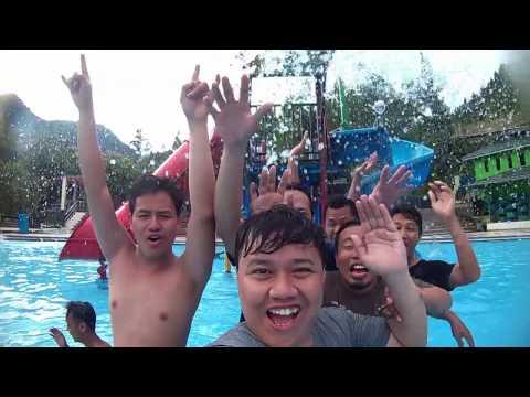 Vlog - Vacation Dieng Wonosobo & Guci - Ku Hot Waterboom Tegal Jawa Tengah Indonesia