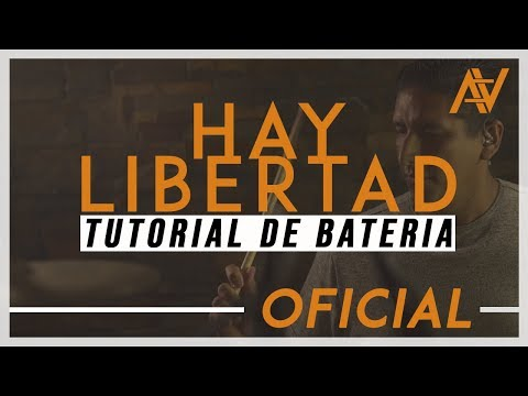 HAY LIBERTAD | COVER DE BATERIA | Alabanza Cristiana | Art Aguilera