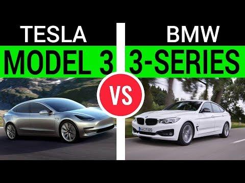 Tesla Model 3 vs. BWM 3-series: I Review, You Decide!
