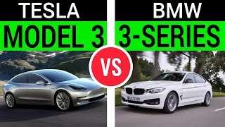 Tesla Model 3 vs. BWM 3-series: I Review, You Decide!