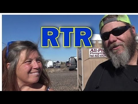 A Day at the Cheap RV Living RTR- Meet the People & Avoid the Crowds!