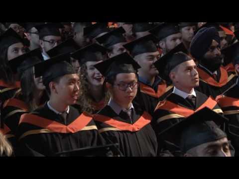 University of Calgary - Convocation Ceremony, June 6, 2017 - PM