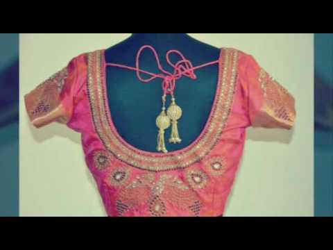 Blouse neck designs, indian saree blouse, Blouse back neck cutting images clip7