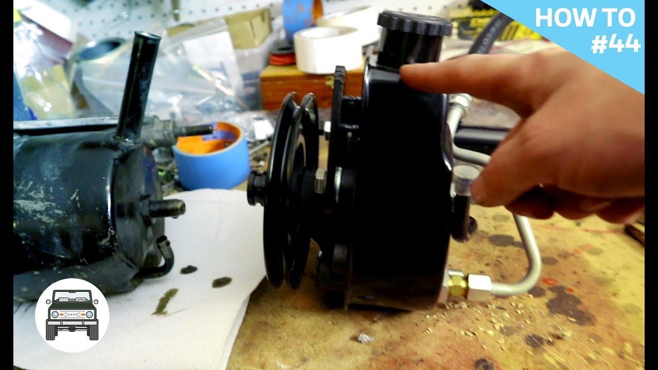 Saginaw Power Steering Pump >> Saginaw Power Steering Pump Install