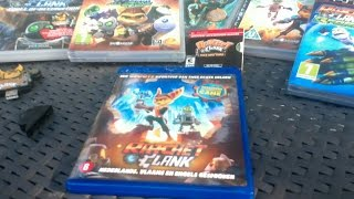 Ratchet & Clank Movie Blu-Ray Unboxing (+ My R&C Collection)