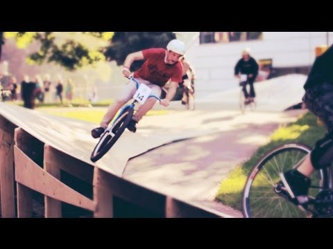 Fixed Gear Obstacle Racing in Latvia - Red Bull Tru Fix 2012