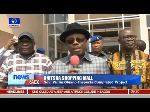 Onitsha Shopping Mall: Gov Obiano Inspects Completed Project