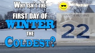 The first day of Winter isn