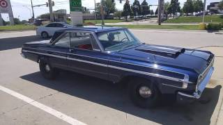 1964 Dodge Polara 426 start up.