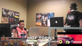 The Connection DJ Mr  Cee Sex Scandal,Beyonce Ex Speaks Out, Miley Cyrus,Football Player Gun Dow