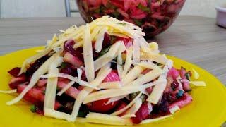 Issiq salat yoki kechki taom* горячий салат или быстрый ужин.