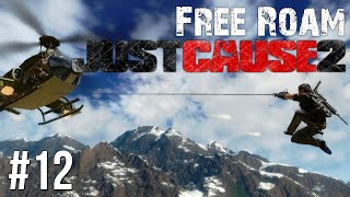 Just Cause 2 Free Roam Gameplay #12 - Icy Plains (Just Cause 3 Hype)