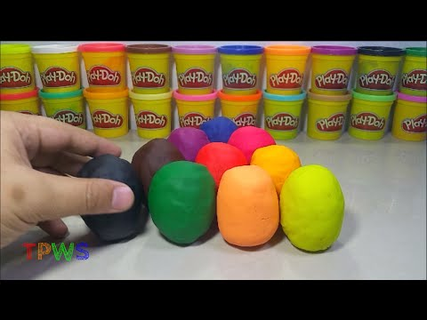 Premium Egg Surprises Toys - Play Doh - Stop Motion (from Germany)