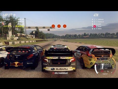 Dirt Rally 2.0 | Subaru WRX STI RallyCross (RX RallyCross) - Lydden Hill - England (4K) |