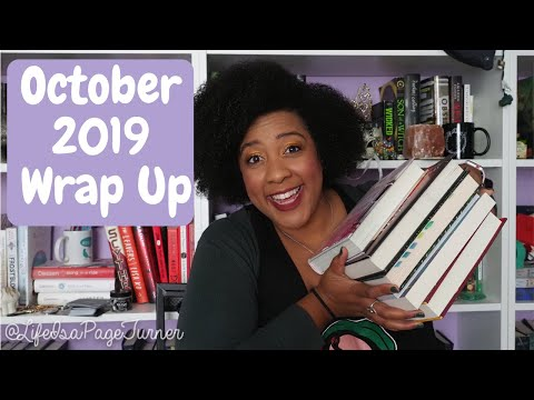 October 2019 Wrap Up | Life is a Page Turner
