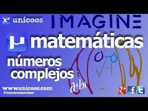 Numeros complejos 02 - Multiplicacion y division en ma binomica 1ºBACHI unicoos ...