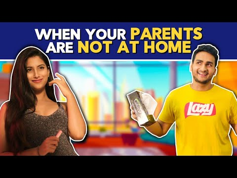 When You Are Home Alone(Part 2) Ft. Pataakha, Anushka Sharma & Anmol Sachar | Hasley India