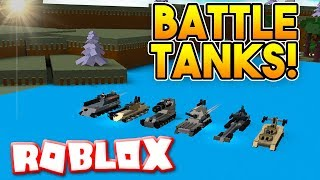 INSANE BATTLE TANKS! | Build A Boat For Treasure ROBLOX