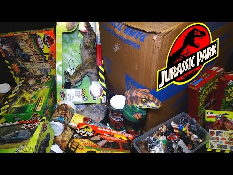 What's in the Box: Jurassic Park Merchandise AND TOYS!