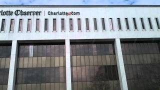View of the Charlotte Observer Building