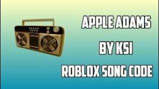 Ksi Adam Apple Code für Roblox