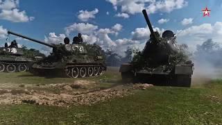 Марш стальных ветеранов: «Звезда» показала легендарные Т-34 армии Лаоса